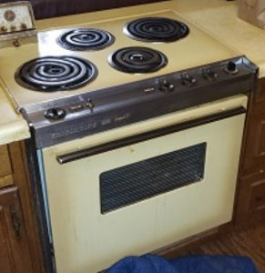 Old Electric Range